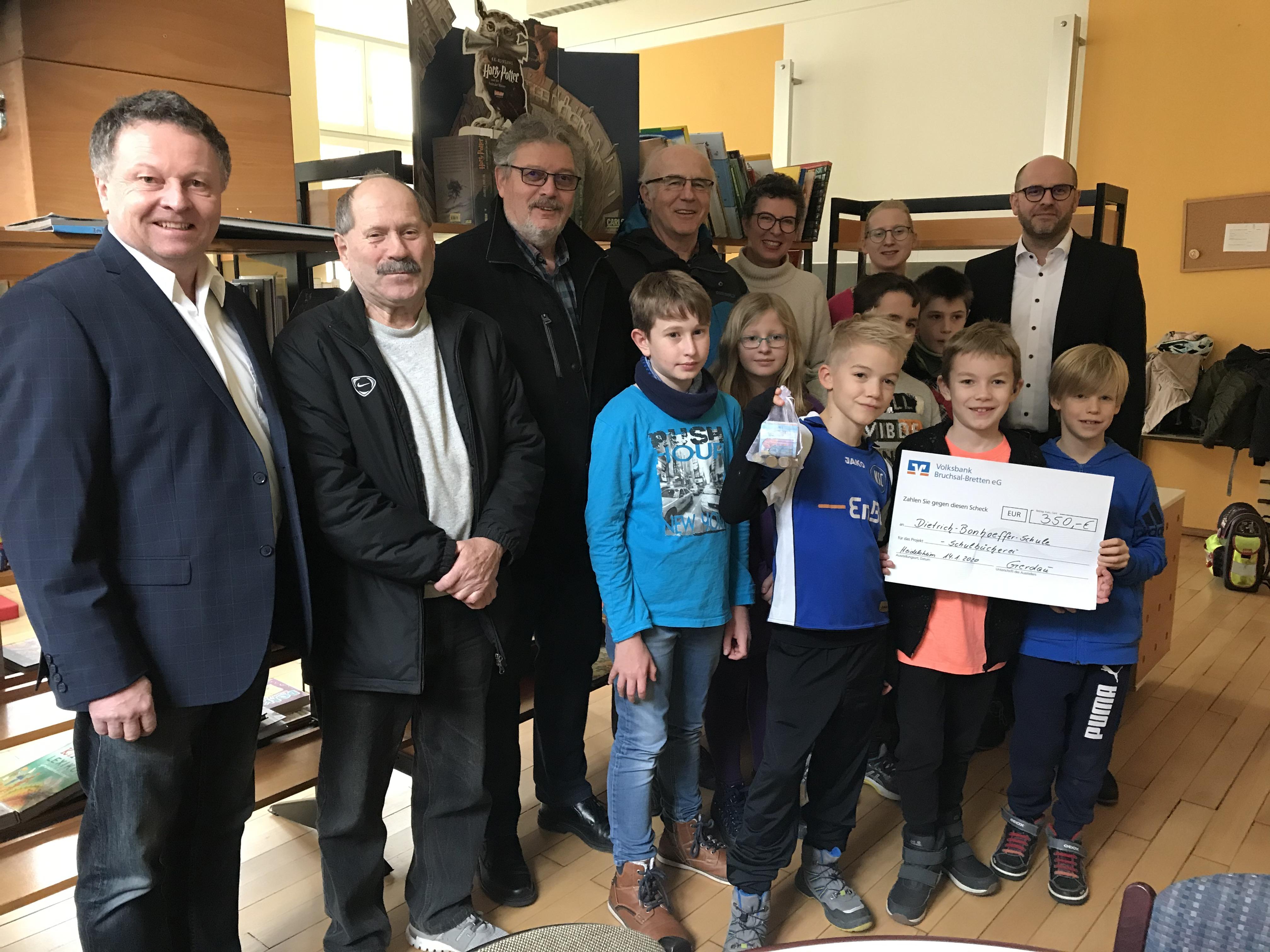 Spendenübergabe Heidelsheim