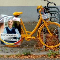 Wahlrat vom Fahrrad